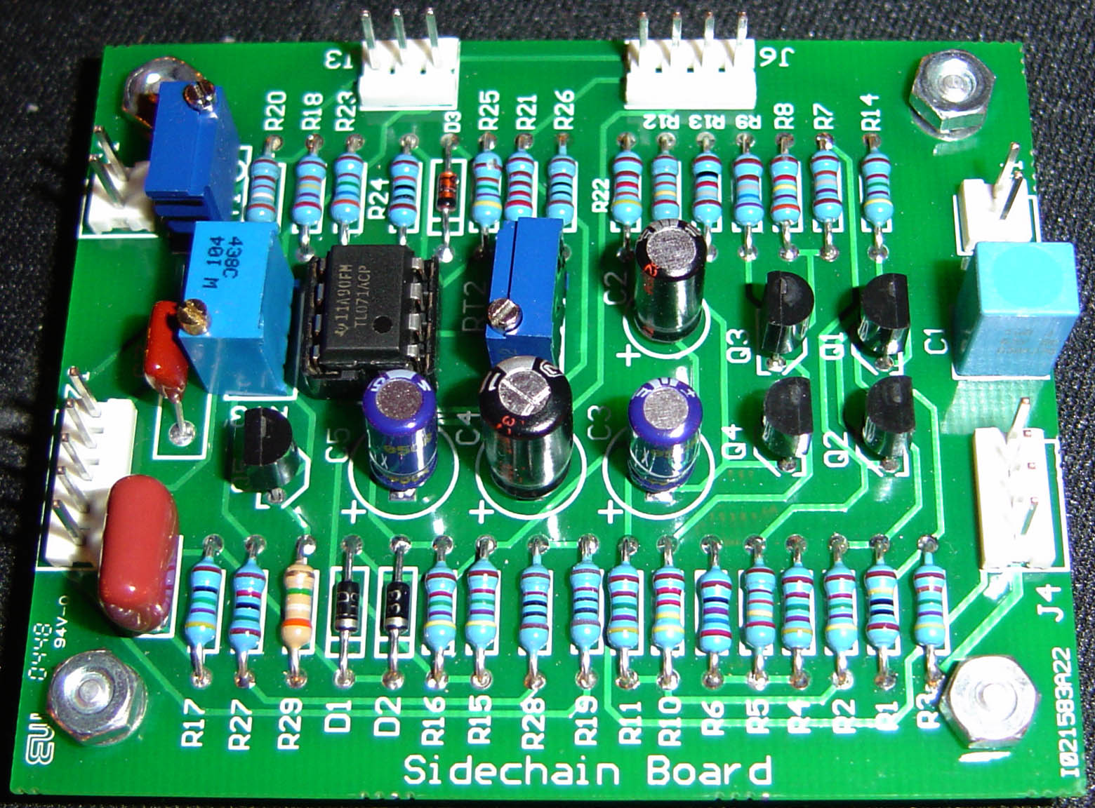 R1 Click Here For A Pdf Version Of Theschematic Because The Resistors Are 1 Metal Film Color Codes Provided Each Part In Table Below Schematic Is Now File